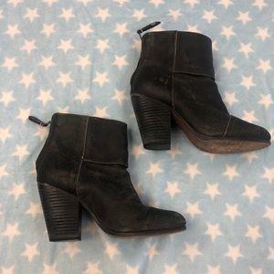 Rag and bone heeled boots